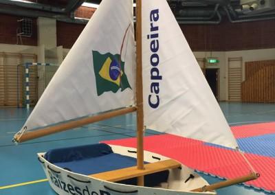 Capoeirabåten på batizado 2015