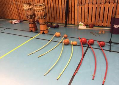 Instrumenter til batizado 2015