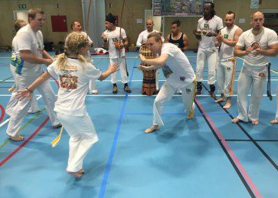Batizadouka 2016 treningsdag på Teglverket skole i Oslo