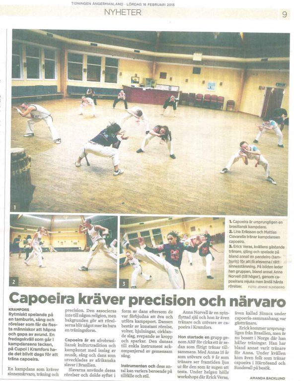 Capoeira kräver precision og närvaro - Tidningen