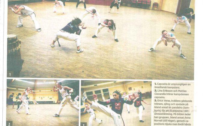 Capoeira kräver precision og närvaro – Tidningen