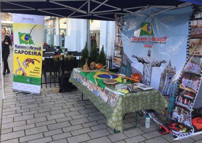 Capoeira på Globus: Internasjonal mat- og kulturfestival september 2016