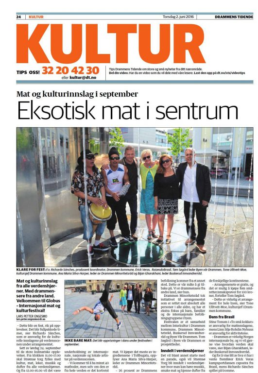 Eksotisk mat i sentrum - Drammens Tidende