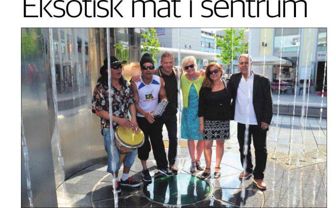 Eksotisk mat i sentrum – Drammens Tidende