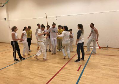 Første trening i januar 2017
