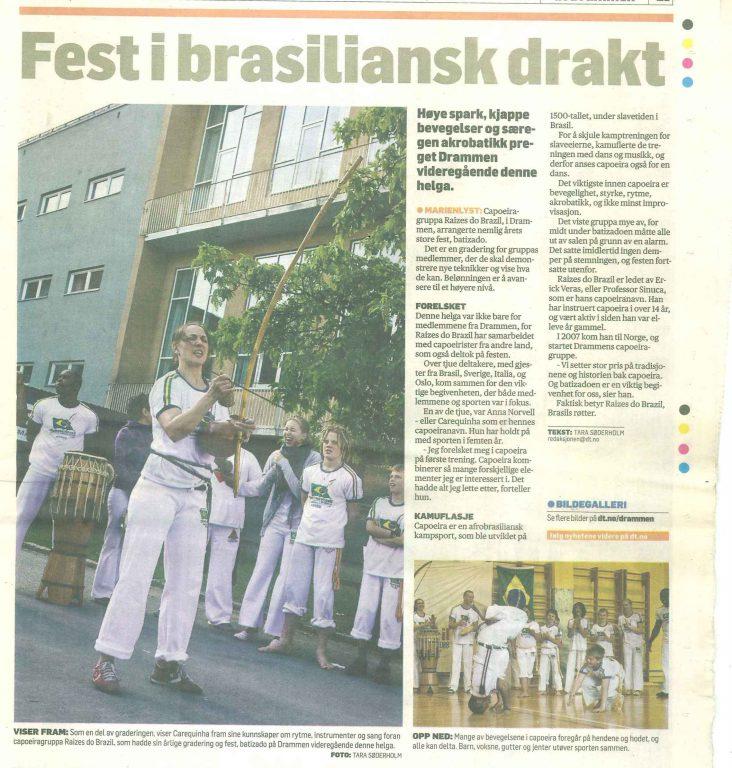 Fest i brasiliansk drakt - Drammens Tidene