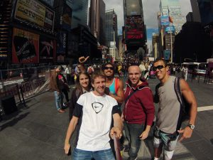 Times Square i New York i 2014